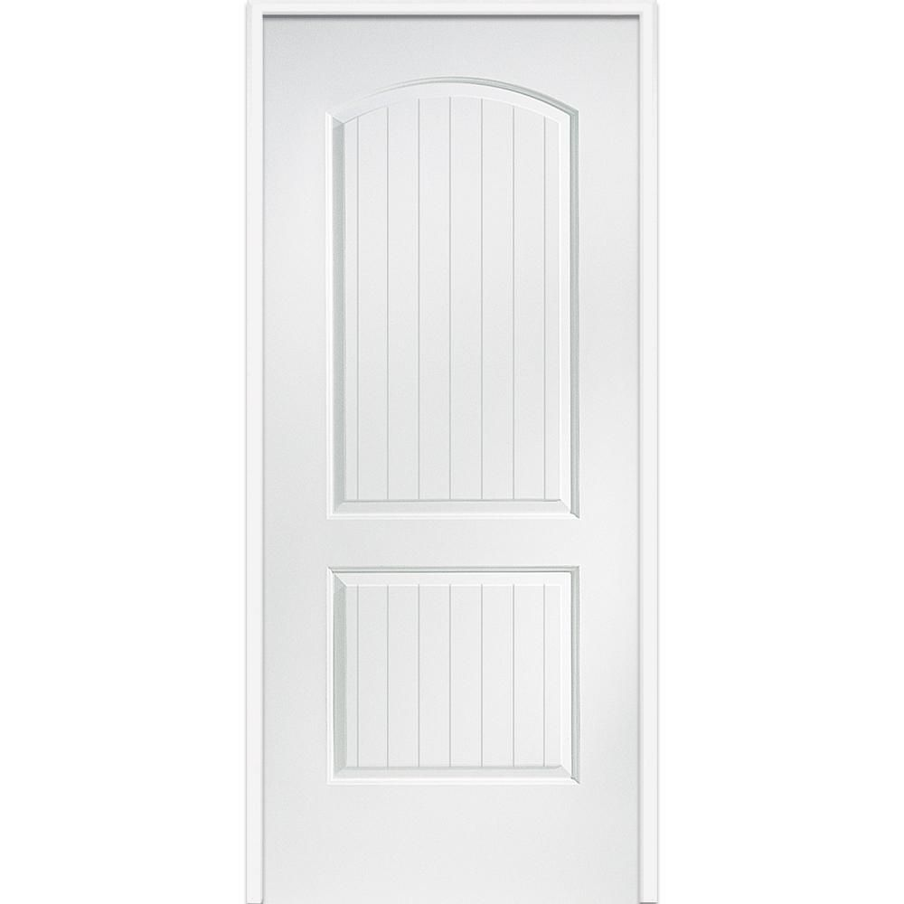 finest selection 9b43f 8c67c MMI Door 32 in. x 80 in. Smooth Cashal Left-Hand Solid Core ...