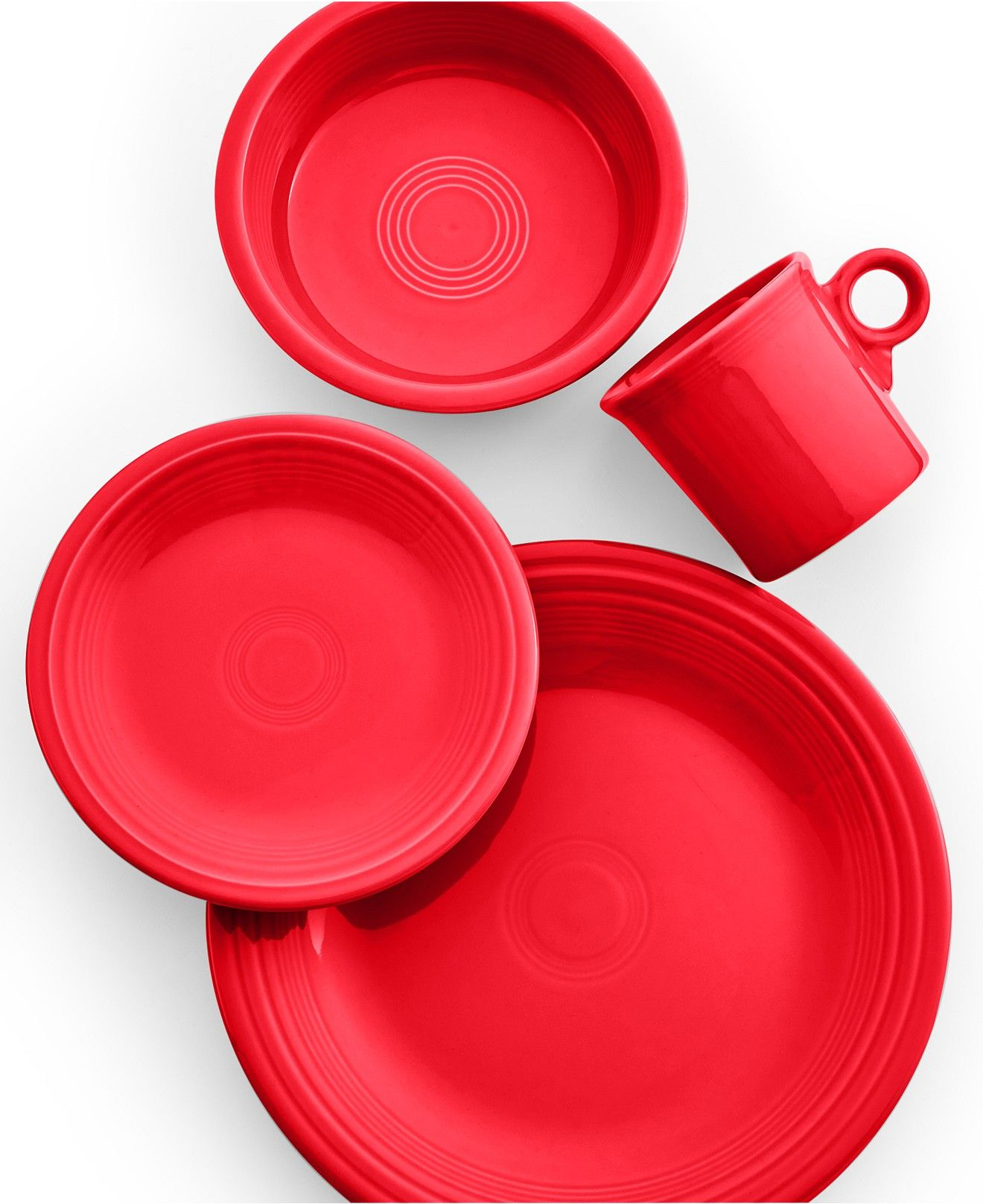 Macy Wedding Gifts: Scarlet 4-Piece Place Setting