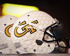 Buy Print: Georgia Tech Football Helmet