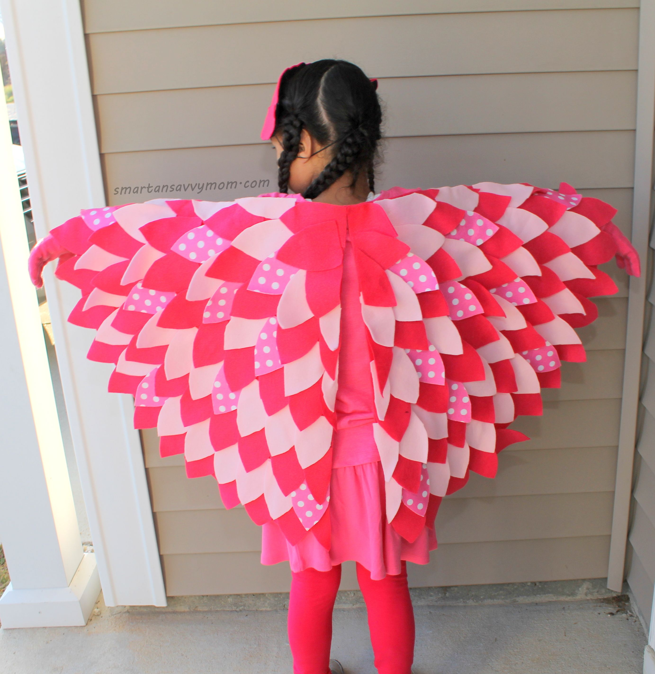 diy no sew costume wings for pj masks costume owlette | PJ Masks ...