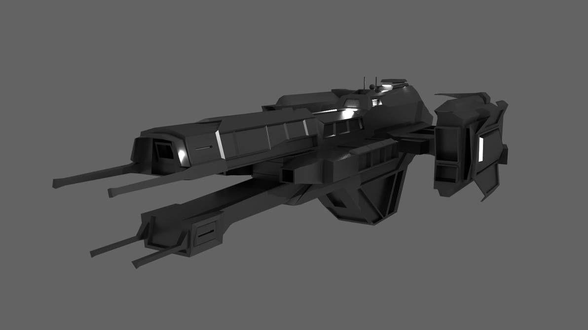 Halo Ships 3d Models