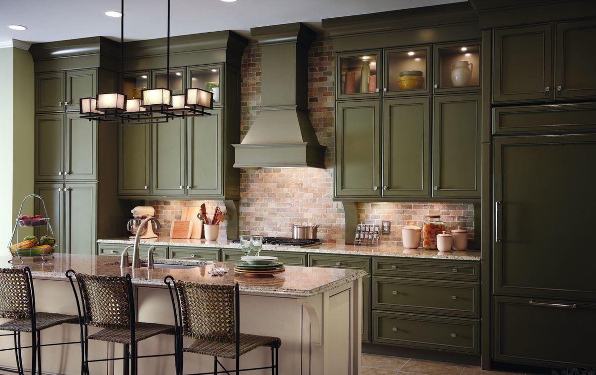 National Kitchen Bath Association Reveals Key Kitchen Design Trends Kraftmaid Kitchens Traditional Kitchen Cabinets Kitchen Remodel