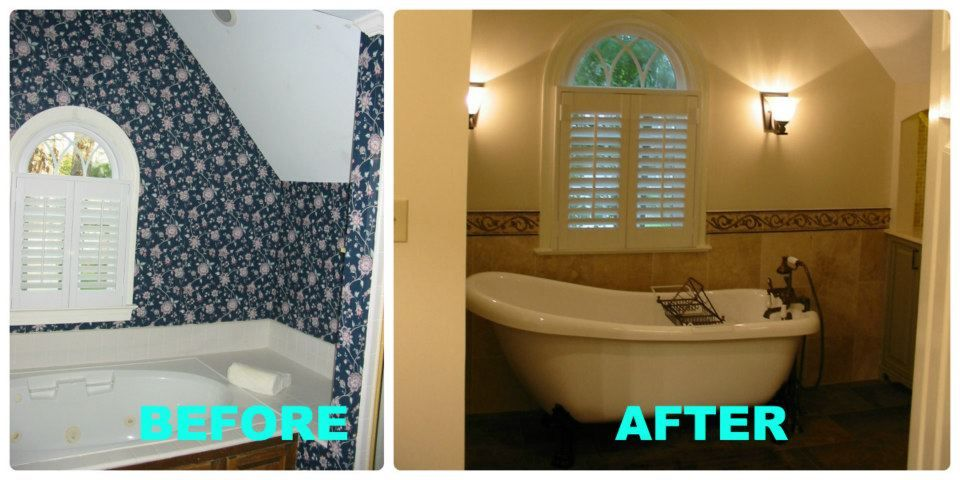Major Bathroom Transformation By Jean E Kitchen And Bath Design In Awesome Bath Remodeling Raleigh Nc
