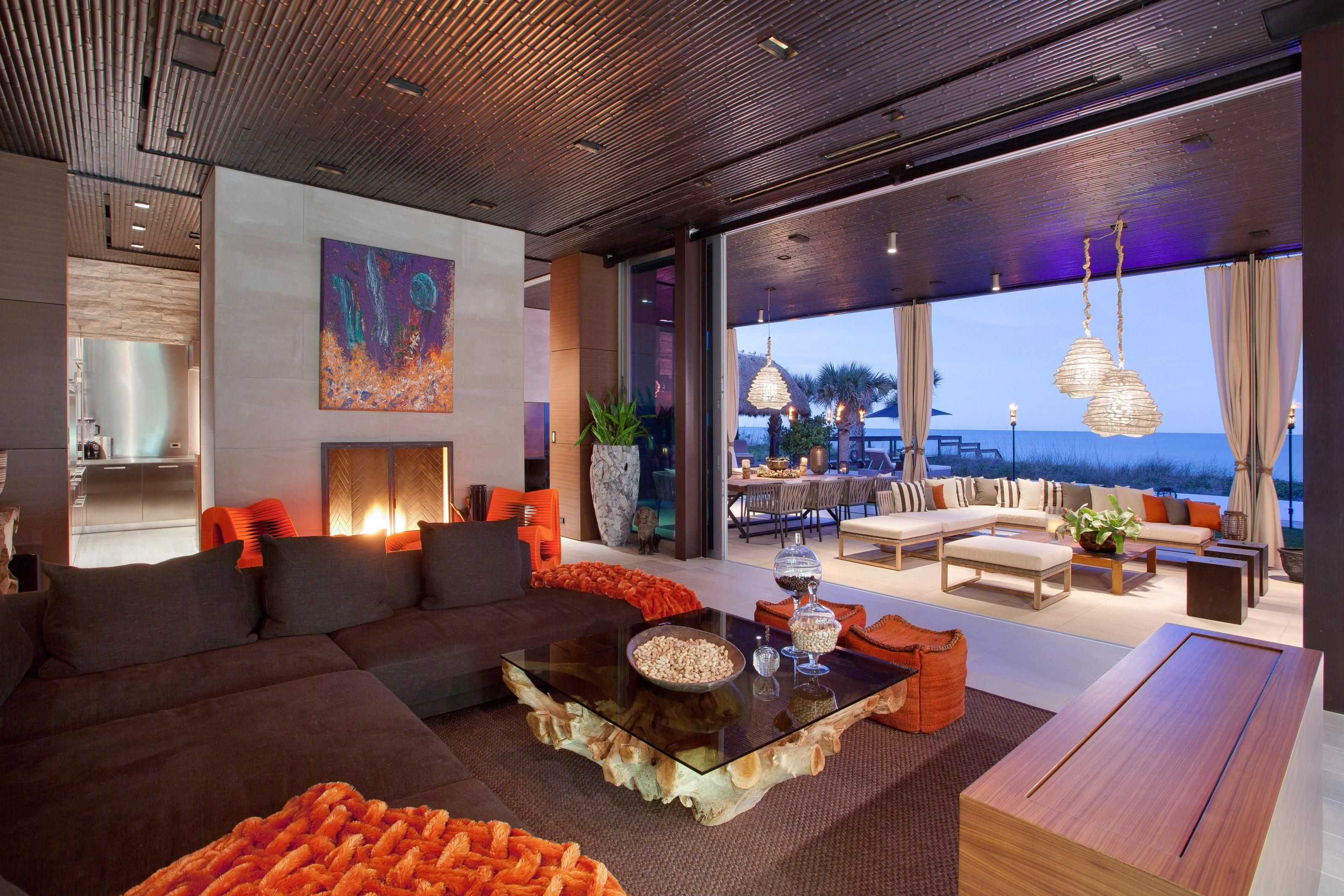 A Modern Mansion with a 200 Foot Private