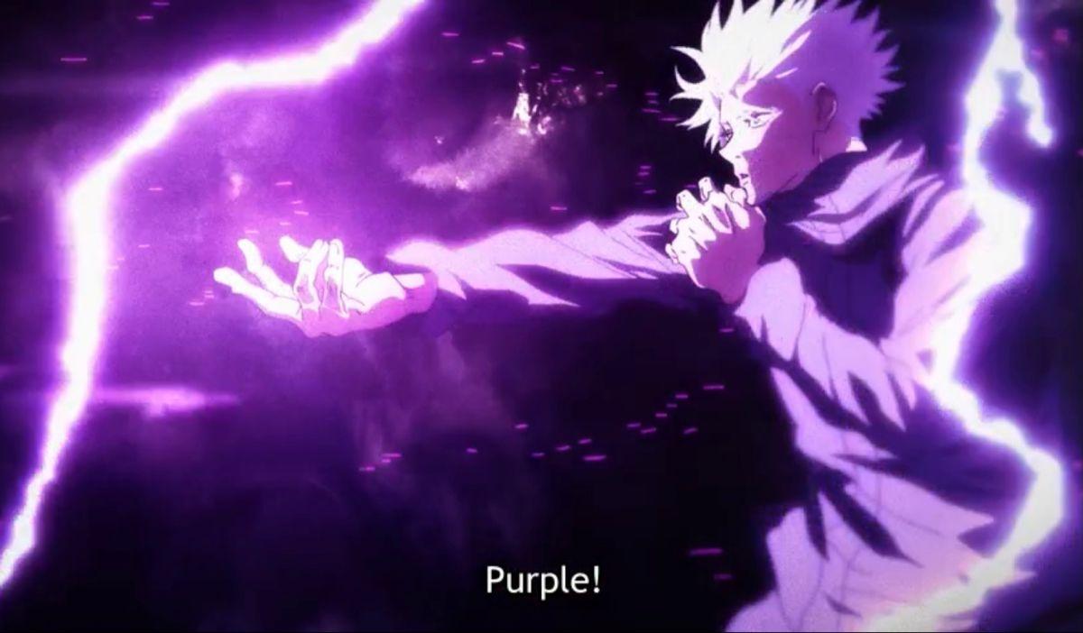 Gojo Satoru Hollow Purple En 2021 Kaisen