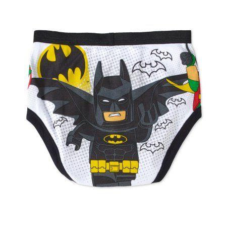LEGO Boys Batman 5-Pack Brief