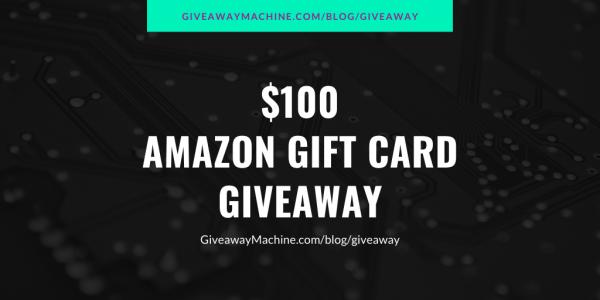 Photo of $100 Amazon Gift Card Giveaway