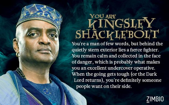 Which Order Of The Phoenix Member Are You Kingsley Shacklebolt Harry Potter Characters Harry Potter Universal