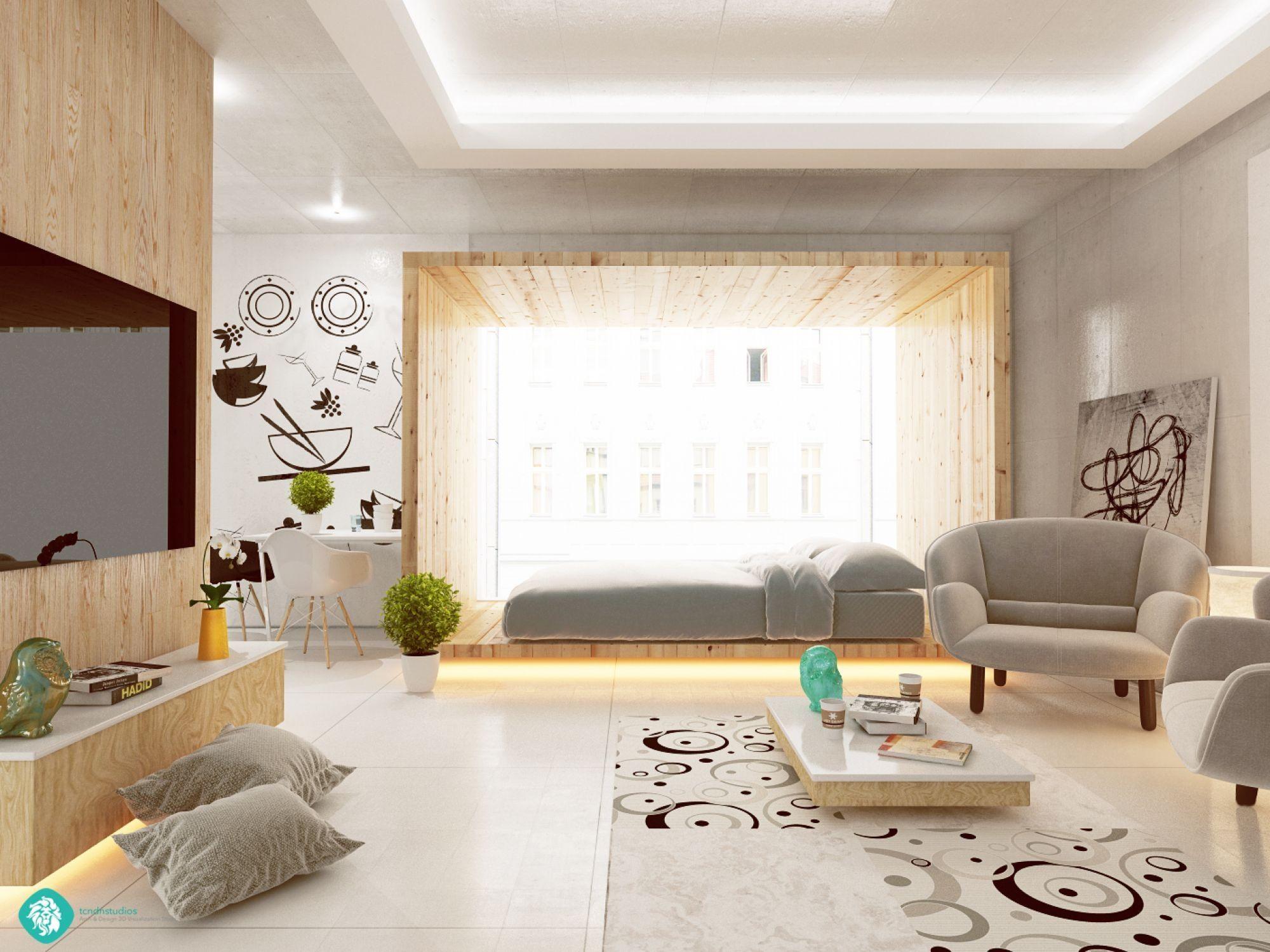 Feminine apartments | Feminine apartment, Small studio and Flats