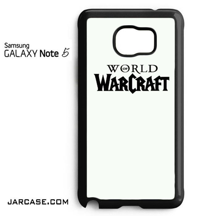 WARCRAFT Logo (3) Phone case for samsung galaxy note 5 and another devices