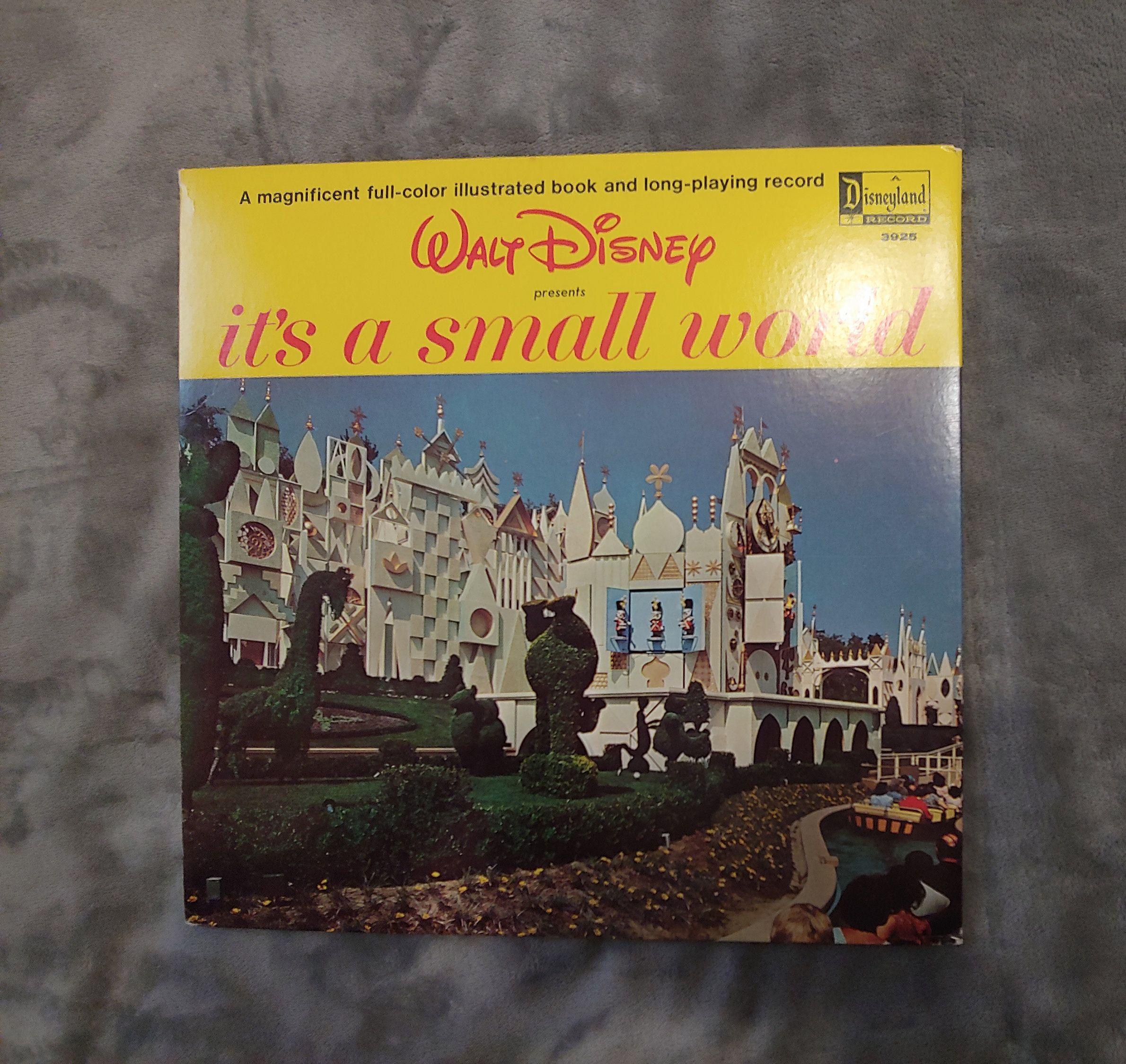 Walt Disney Presents It S A Small World Etsy Disney Presents Small World Disneyland Disneyland