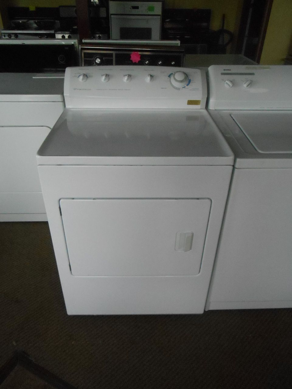 Appliance City Frigidaire Gallery Electric Dryer Commercial Heavy