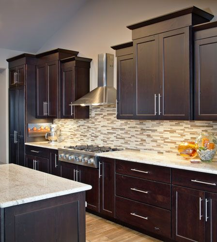 Renovated Kitchen In Omaha Nebraska Designed And Completed By Cabinet Factory Outlet Plus Of