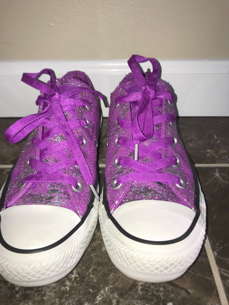 Womens Converse Chuck Taylor Ct Ox Purple 543875f Shoes Size 6