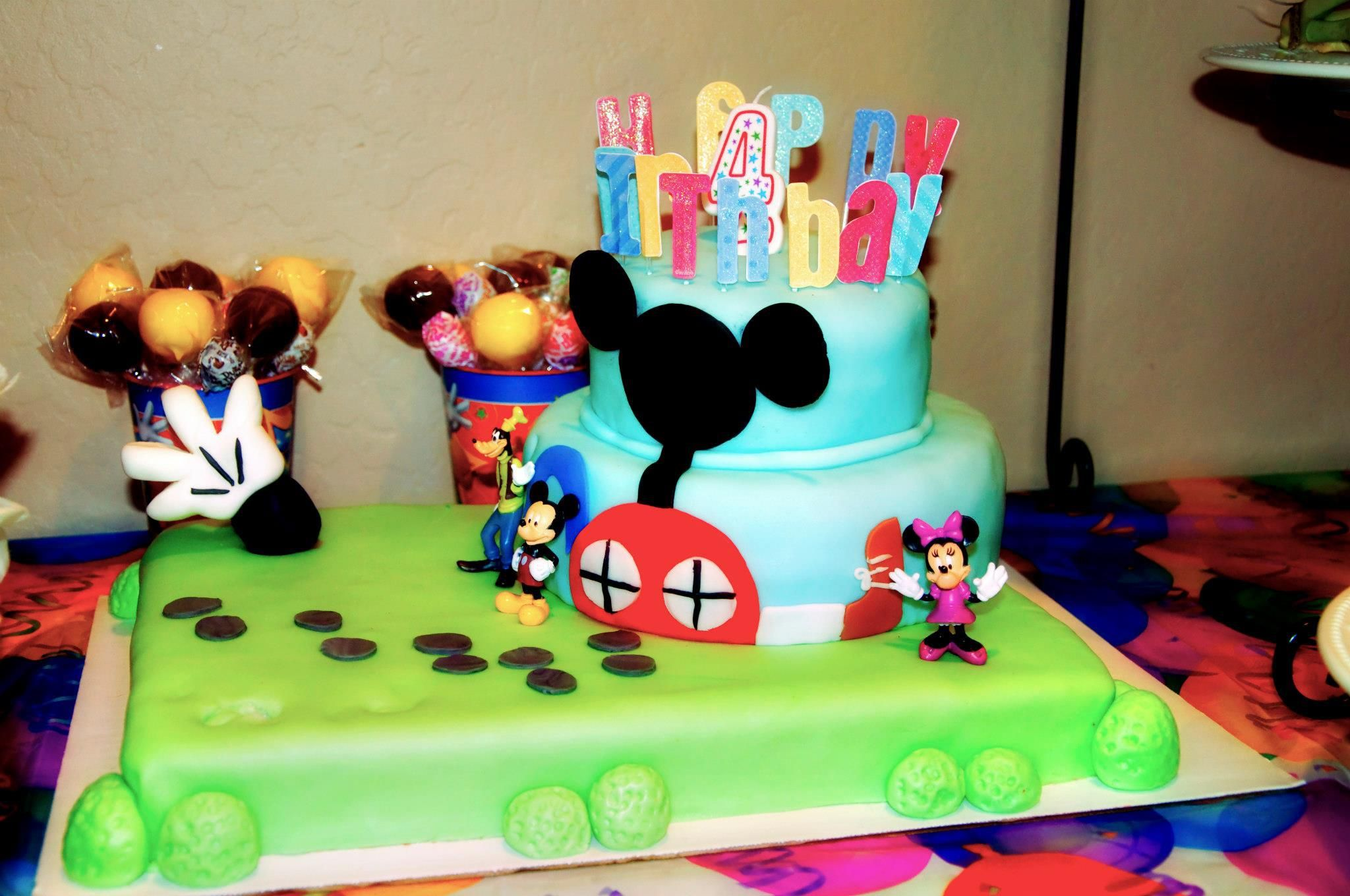Mickey Mouse Clubhouse Birthday Cake Party Ideas Cakes Ive Made