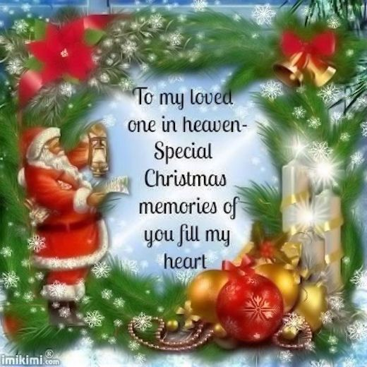 To My Loved Ones In Heaven Miss You Family Quotes Heaven In Memory Christmas Christmas Quote Happy Christmas Eve Merry Christmas In Heaven Christmas Eve Quotes
