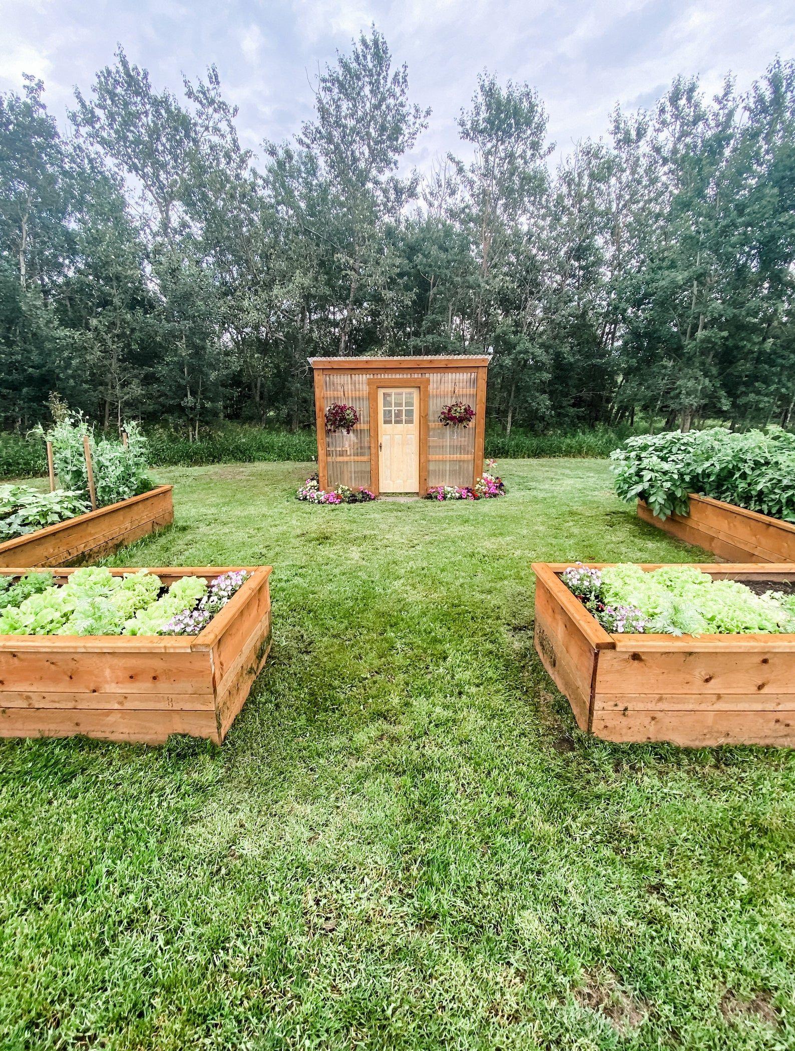 Diy 7x10 Lean To Greenhouse Building Guide In 2020 Lean To Greenhouse Backyard Greenhouse Farmhouse Landscaping Backyard garden kit jamaica