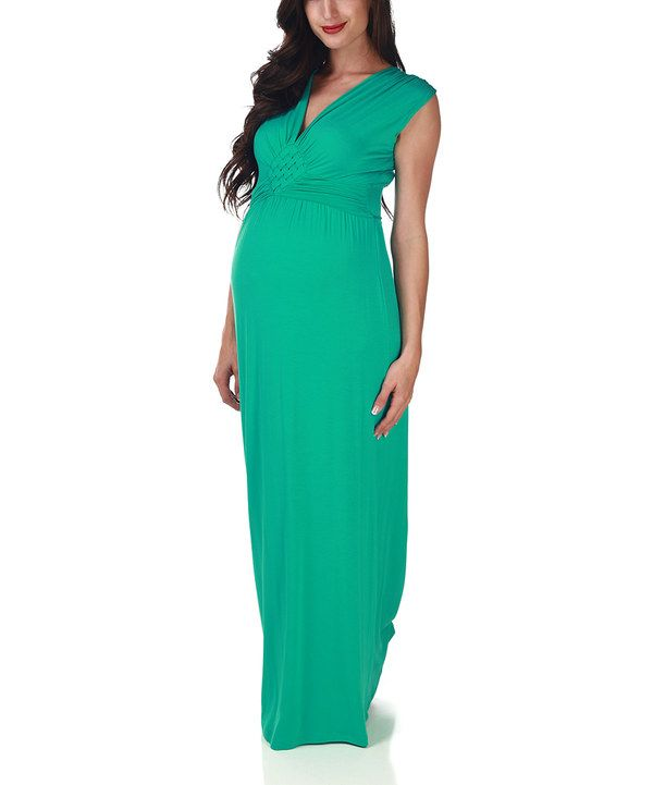 Another Great Find On #zulily! Mint Green Maternity