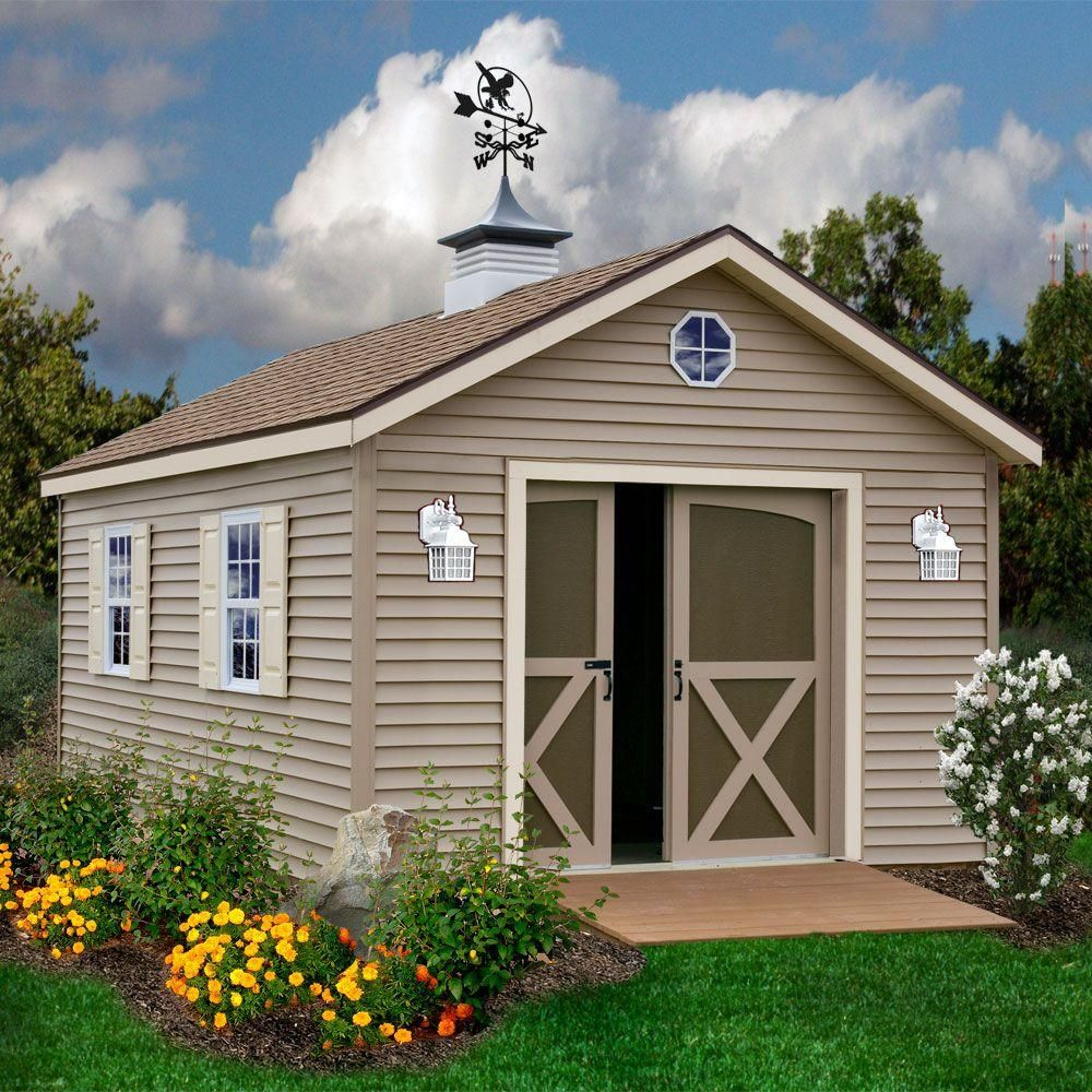 Best Barns South Dakota 12 Ft X 16 Ft Prepped For Vinyl Storage Shed Kit Southdakota 1216 The Home Depot Building A Shed Backyard Sheds Wood Shed