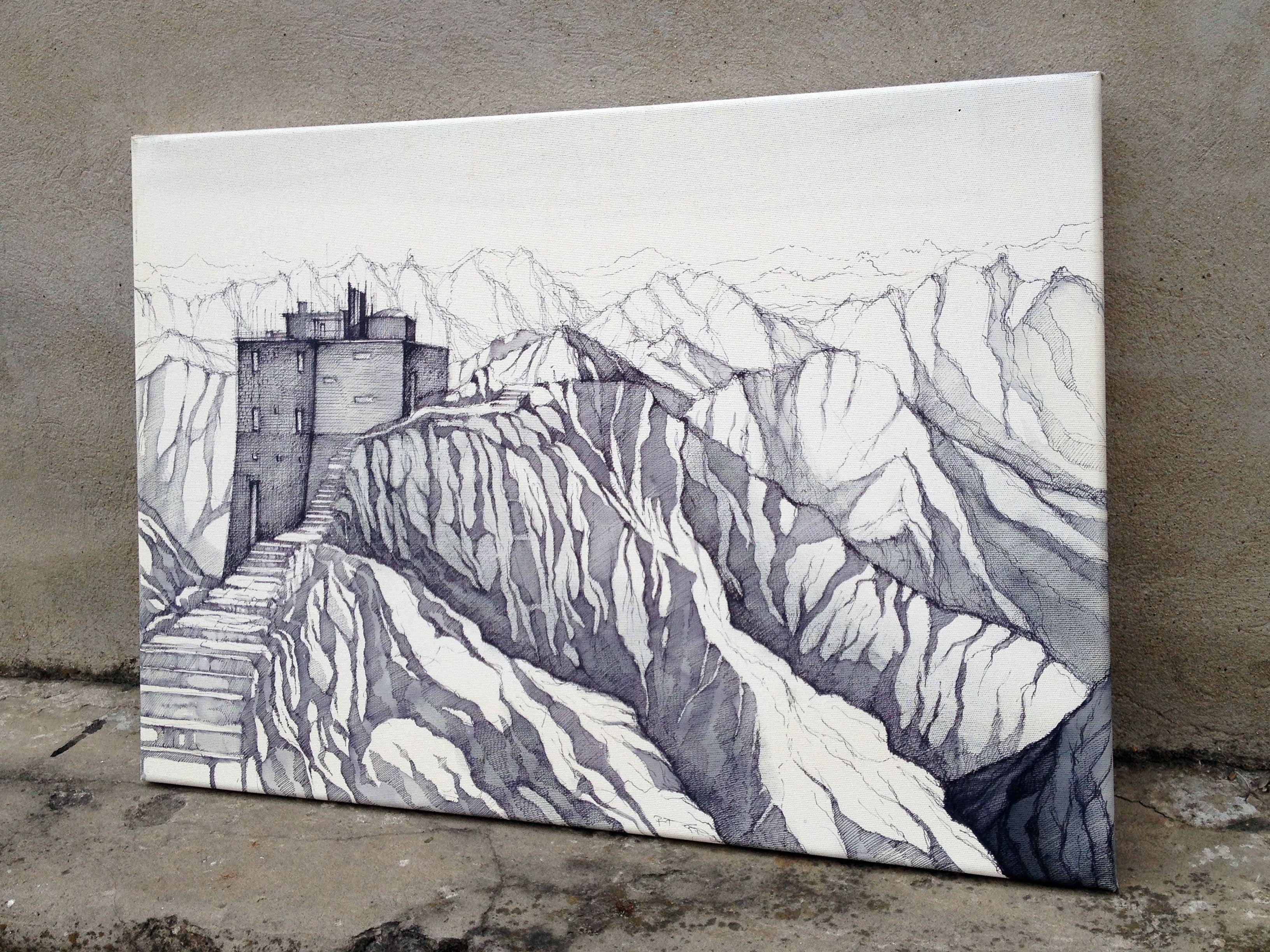 Maják kresba na plátno PREMIUM HOTEL WORKS Pinterest