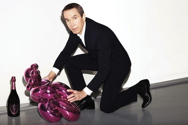 """Nothing can touch me now – I'm Jeff Koons and my art can defend me!"" — Jeff Koons"