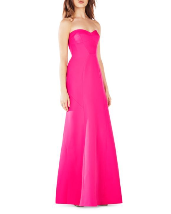 BCBGMAXAZRIA Strapless Gown - 100% Bloomingdale's Exclusive
