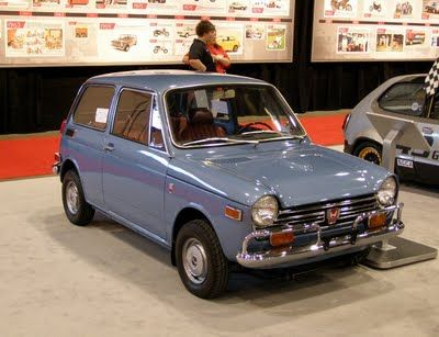 SEMA: Vintage subcompact Hondas | Japanese cars, Classic ...