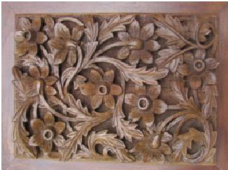 Wood carving designs flowers blog kashmir box kashmir for Door design kashmir