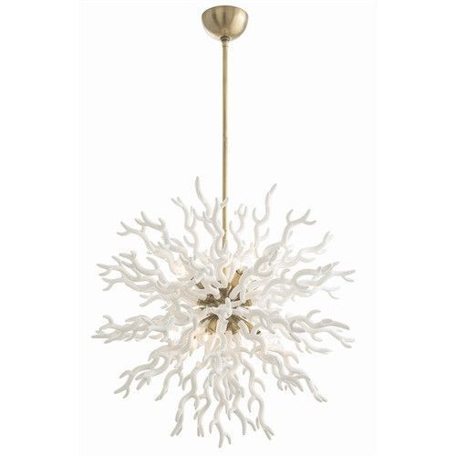 Diallo coral chandelier white chandeliers round chandelier and diallo coral chandelier white aloadofball Gallery