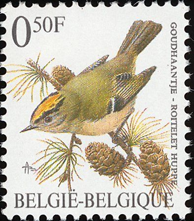 Goldcrest stamps - mainly images - gallery format