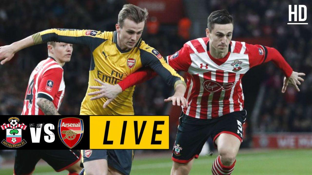 Southampton vs Arsenal LIVE STREAM TODAY FOOTLIGHTS