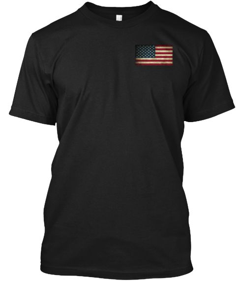 America T Shirt   Love America T 2016 Black T-Shirt Front