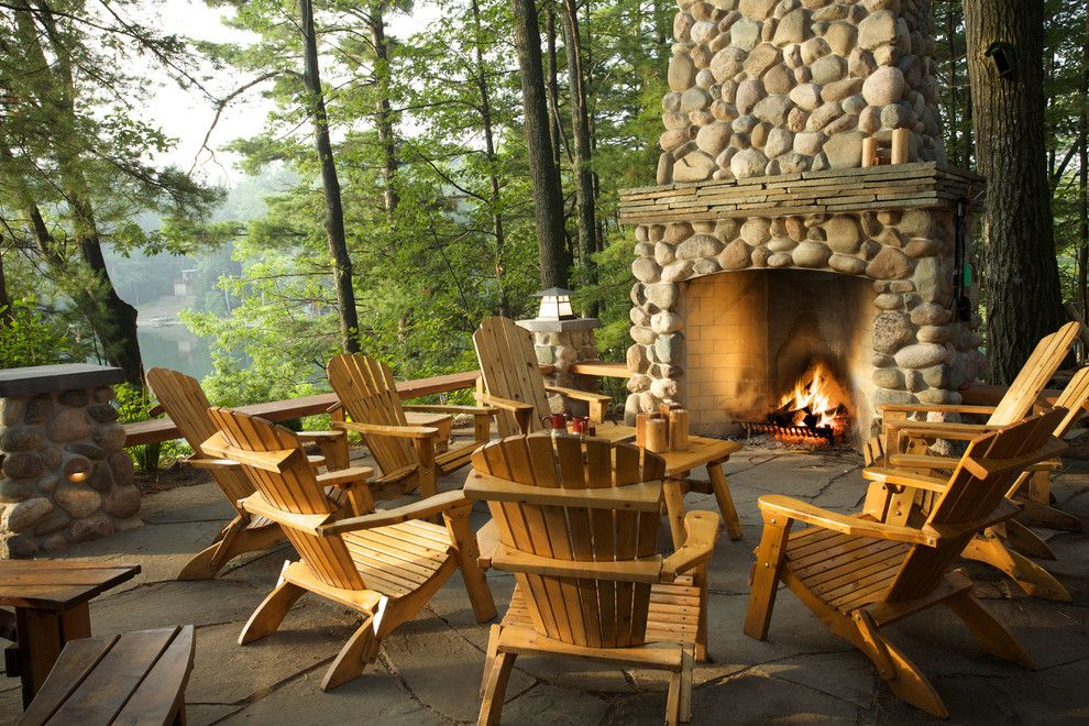 Wow~Fireplace and View...