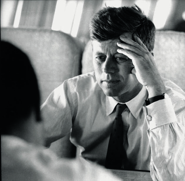 Portrait of Jack Kennedy, Nebraska, Spring 1960 | The Estate of Jacques Lowe