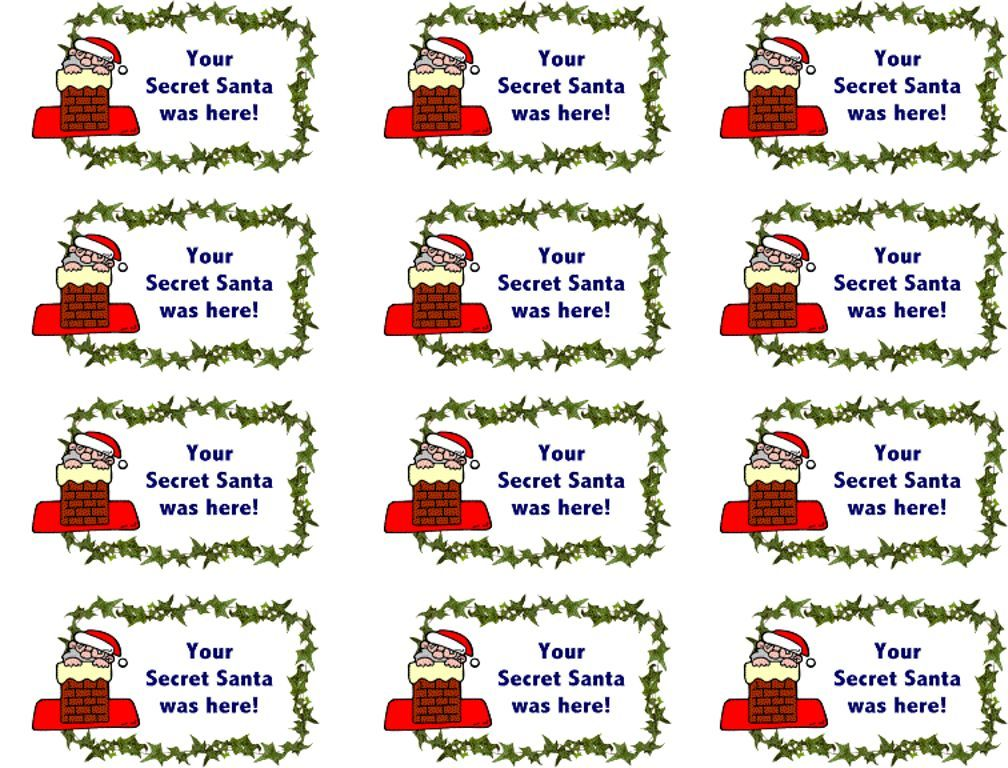 Secret+Santa+Notes Secret santa, Secret santa note