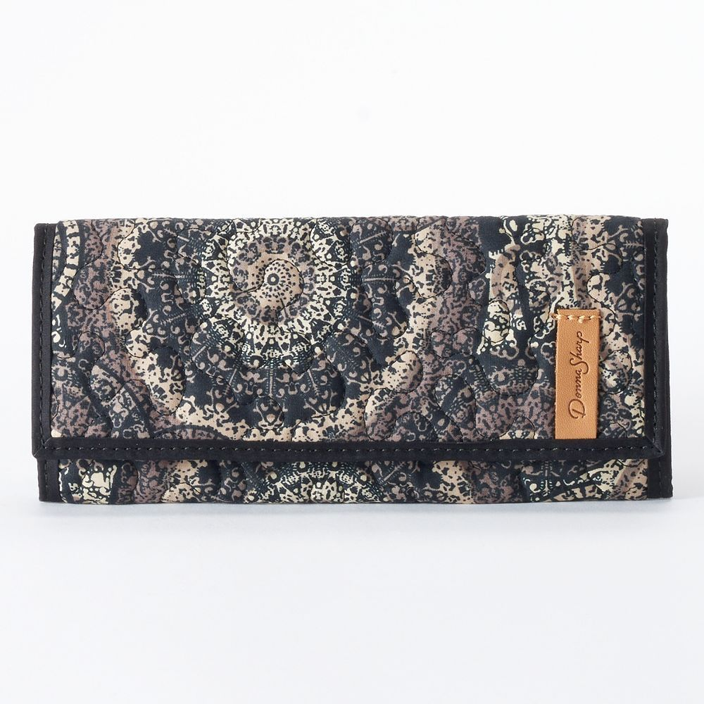 Donna Sharp Quilted Wallet, Brown