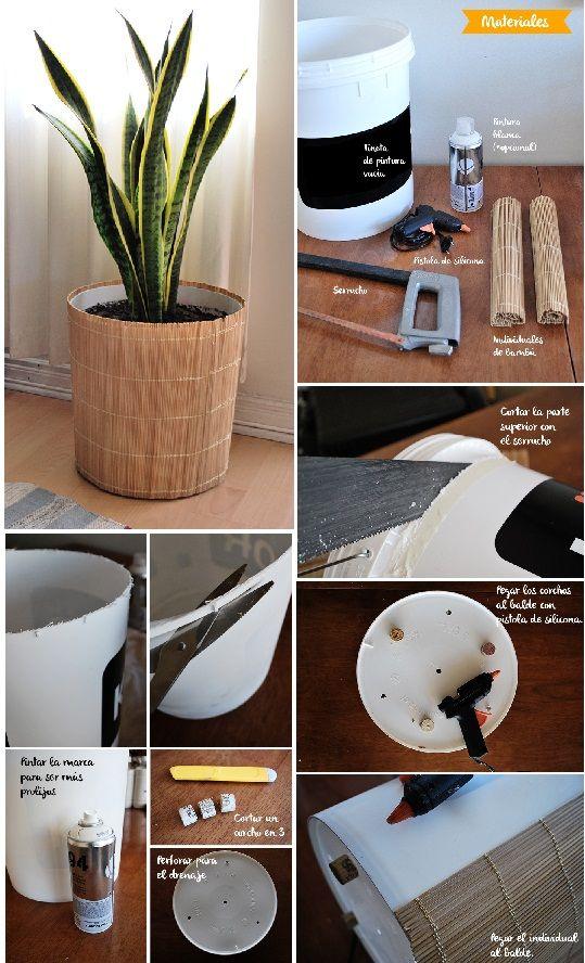 De la mesa a las plantas muebles y reciclados - Recibidores originales reciclados ...