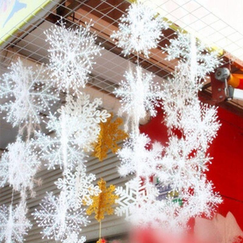 Snowflake Christmas Ornaments 30Pcs