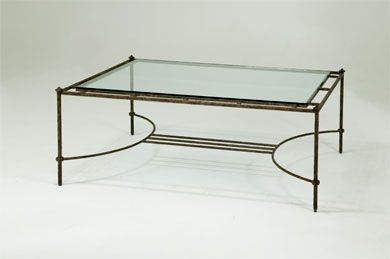 1177 Rect Iron Coffee Table W Bracelet Leg 54 X 36 Iron Coffee Table Table Furniture