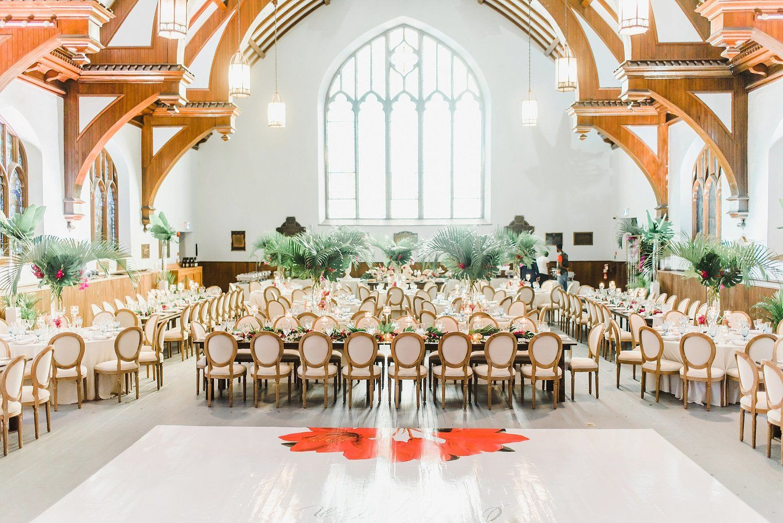 All Saints Event Centre Urban Ottawa Wedding Ann Lori Ryan Ali Batoul Photography Event Space Design Prop House Event Space Decor