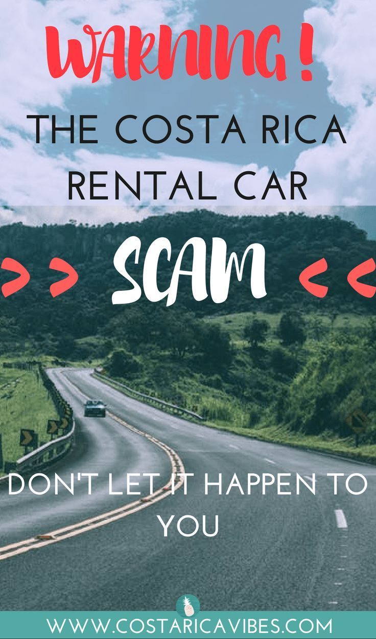Renting a car is the best way to get around in Costa Rica