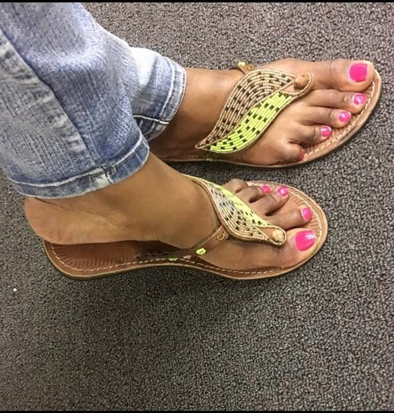 c215b2be33e4f Leafy sandals in 2019   Products   Sandals, Beautiful toes, Flat sandals