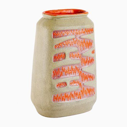 Large Red Floor Vase, 1970s #bodenvasedekorieren Large Red Floor Vase, 1970s #bodenvasedekorieren