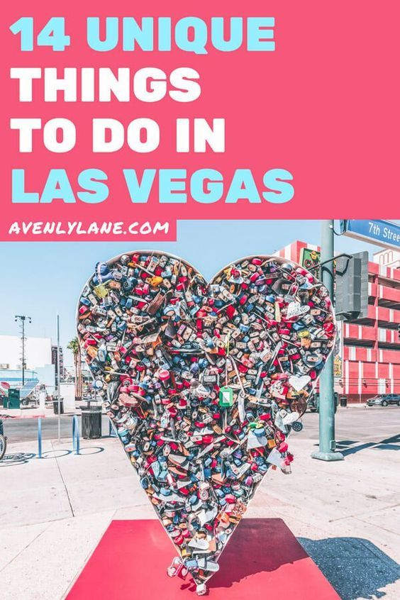 14 Unique Things to do in Las Vegas