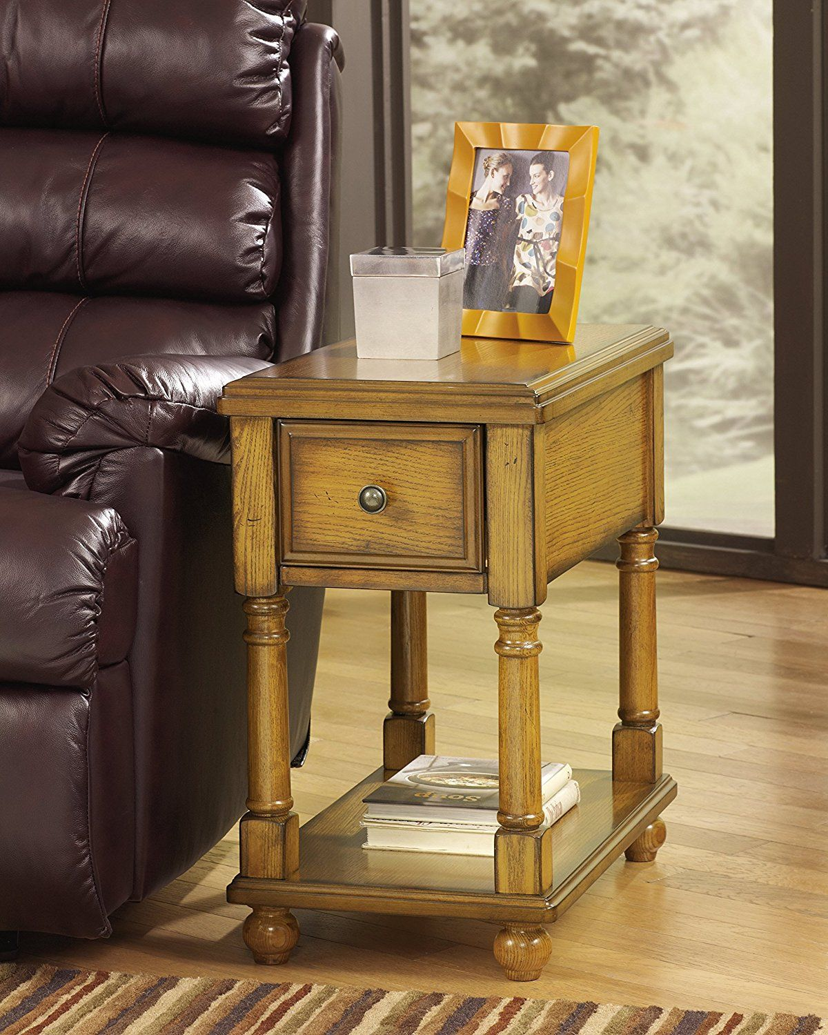Ashley Furniture Signature Design Breegin Chairside End Table 1