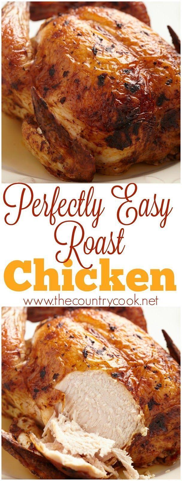 Perfect Roast Chicken Recipe Perfect Roast Chicken Roast Chicken Recipes Chicken Recipes