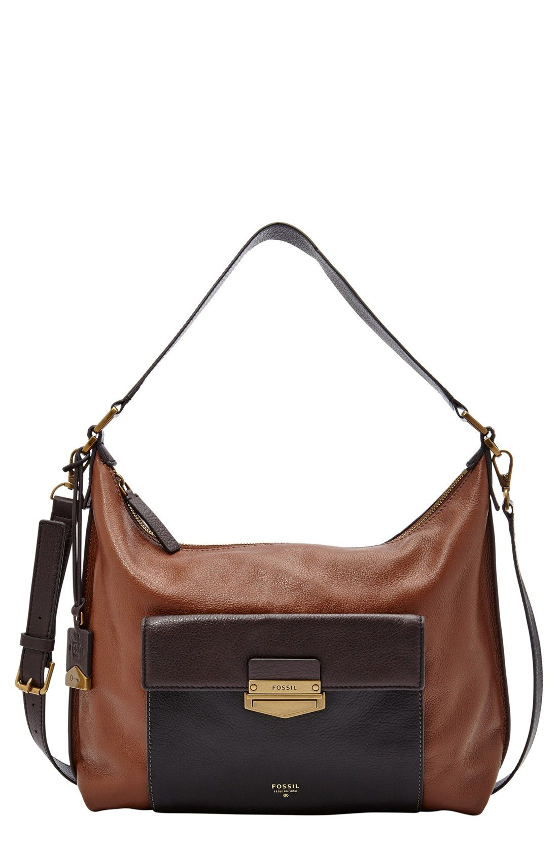 Fossil'Vickery' Leather Shoulder Bag