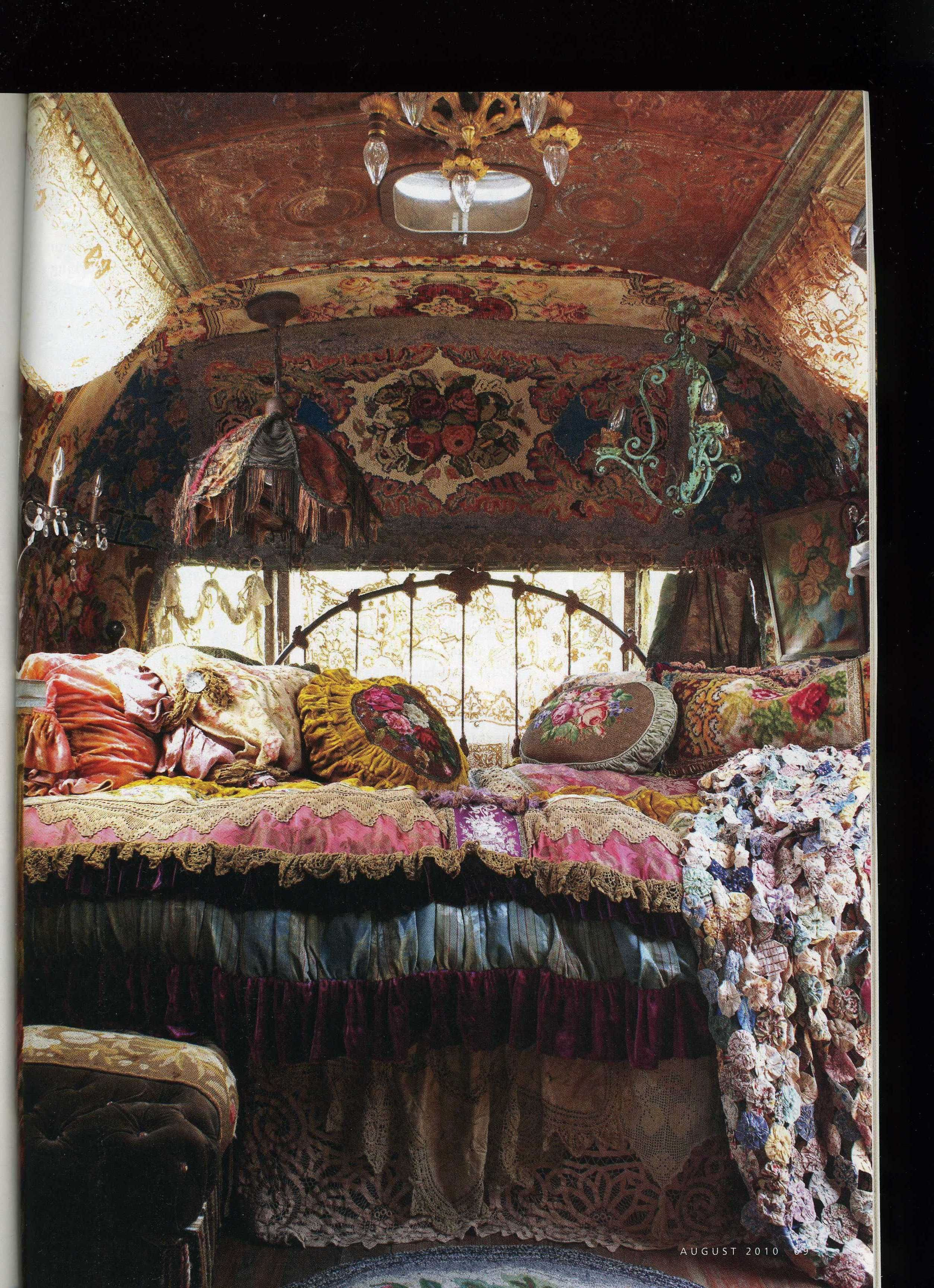 Romantic Country magazine | Your Inner Gypsy | Pinterest