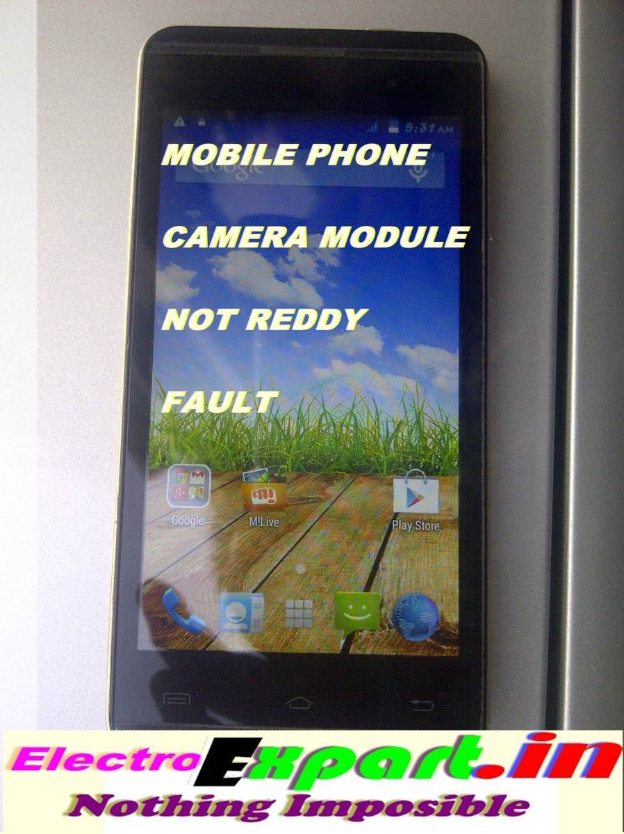 Android Camera Not Working Fault Solution / कैमरा फाल्ट को
