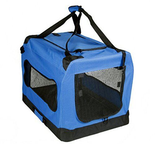 Mr Peanuts Soft Sided Dog House Style Portable Pet Crate Extra